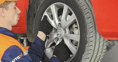 Koppelstange Ihres Mazda 3 bk 2.3 MPS 2004 selbst Wechsel - Gratis Tutorial