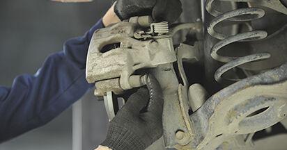 Bremsbeläge Mazda 3 bk 2.0 2005 wechseln: Kostenlose Reparaturhandbücher