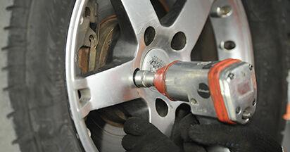 How to change Brake Discs on VW T5 Platform 2003 - free PDF and video manuals