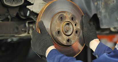 How hard is it to do yourself: Brake Discs replacement on VW T5 Platform 2.5 TDI 2009 - download illustrated guide
