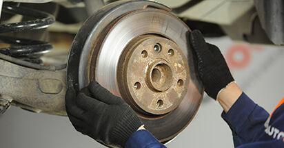 TRANSPORTER V Platform/Chassis (7JD, 7JE, 7JL, 7JY, 7JZ, 7FD 2.0 TDI 4motion 2014 Brake Discs DIY replacement workshop manual