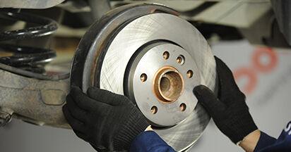 Tausch Tutorial Bremsscheiben am VW TRANSPORTER V Platform/Chassis (7JD, 7JE, 7JL, 7JY, 7JZ, 7FD 2015 wechselt - Tipps und Tricks