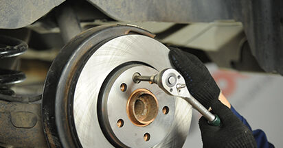 Step-by-step recommendations for DIY replacement VW T5 Platform 2003 2.0 TDI 4motion Brake Discs
