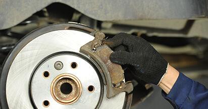 Wechseln Bremsscheiben am VW TRANSPORTER V Platform/Chassis (7JD, 7JE, 7JL, 7JY, 7JZ, 7FD 2.0 TDI 2006 selber