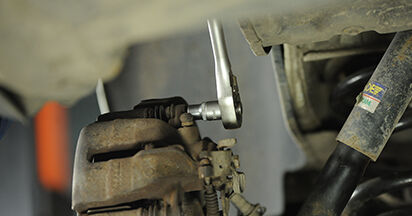 Changing Brake Discs on VW TRANSPORTER V Platform/Chassis (7JD, 7JE, 7JL, 7JY, 7JZ, 7FD 2.0 TDI 2006 by yourself