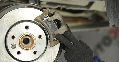 VW TRANSPORTER 1.9 TDI Plaquettes de Frein remplacement: guides en ligne et tutoriels vidéo
