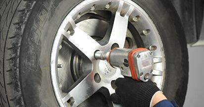Recommandations étape par étape pour remplacer soi-même VW T5 Сamion à Plateau 2003 2.0 TDI 4motion Plaquettes de Frein