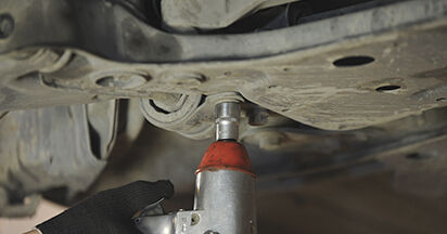 Austauschen Anleitung Querlenker am Mazda 3 bk 2006 1.6 selbst