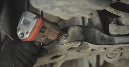 Wie schwer ist es, selbst zu reparieren: Querlenker Mazda 3 bk 1.6 MZ-CD 2009 Tausch - Downloaden Sie sich illustrierte Anleitungen