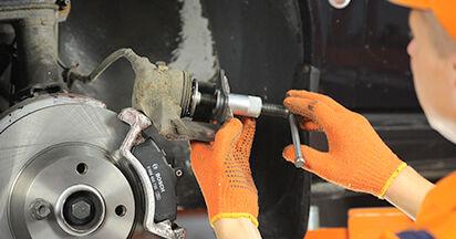 AUDI 80 2.6 Bremsbeläge ausbauen: Anweisungen und Video-Tutorials online