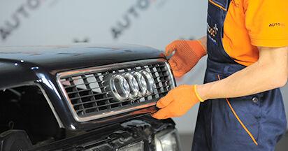 Austauschen Anleitung Luftfilter am Audi 80 b4 1993 2.0 selbst