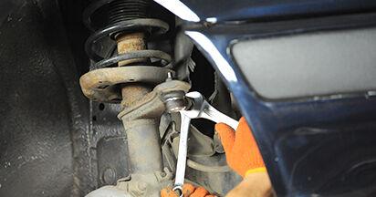 Spurstangenkopf Ihres Audi 80 b4 2.0 E 16V quattro 1991 selbst Wechsel - Gratis Tutorial