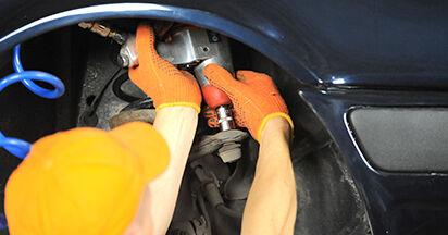 Spurstangenkopf Audi 80 b4 1.9 TDI 1993 wechseln: Kostenlose Reparaturhandbücher