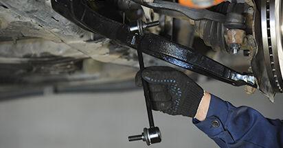 Koppelstange am VW TRANSPORTER V Platform/Chassis (7JD, 7JE, 7JL, 7JY, 7JZ, 7FD 2.0 BiTDI 4motion 2008 wechseln – Laden Sie sich PDF-Handbücher und Videoanleitungen herunter
