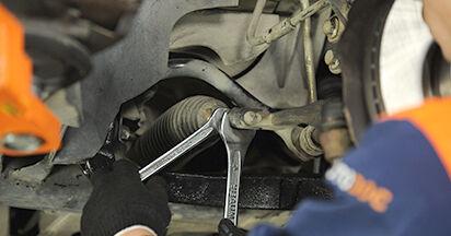 Spurstangenkopf VW T5 Pritsche 1.9 TDI 2005 wechseln: Kostenlose Reparaturhandbücher