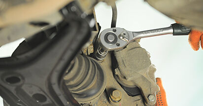 Austauschen Anleitung Radlager am Audi 80 b4 1993 2.0 selbst