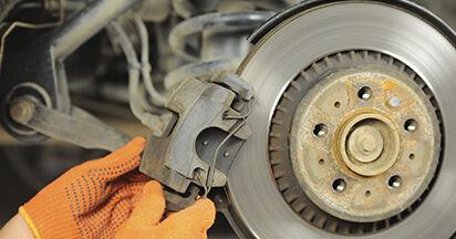 Wie VOLVO XC90 3.2 AWD 2006 Bremsscheiben ausbauen - Einfach zu verstehende Anleitungen online