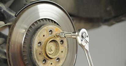 Bremsscheiben am VOLVO XC90 I 2.4 D5 AWD 2007 wechseln – Laden Sie sich PDF-Handbücher und Videoanleitungen herunter