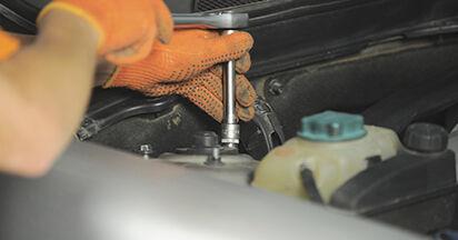 Wie lange braucht der Teilewechsel: Stoßdämpfer am Volvo XC90 1 2010 - Einlässliche PDF-Wegleitung
