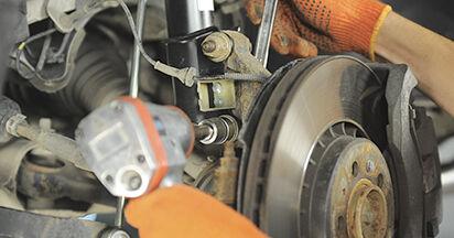 XC90 I 3.2 AWD 2013 Stoßdämpfer - Wegleitung zum selbstständigen Teileersatz