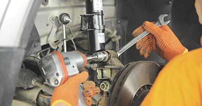 Wie lange benötigt das Auswechseln der Teile: Federn beim Volvo XC90 1 2010 - Detailliertes PDF-Tutorial