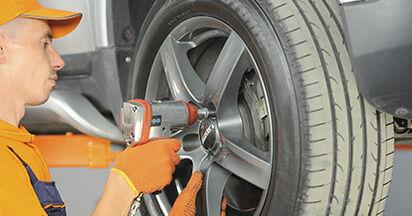 Byt Fjäderbenslagring på Volvo XC90 1 2012 2.4 D5 på egen hand