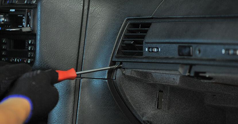 3 Compact (E36) 318tds 1.7 1998 316i 1.9 Innenraumfilter - Handbuch zum Wechsel und der Reparatur eigenständig