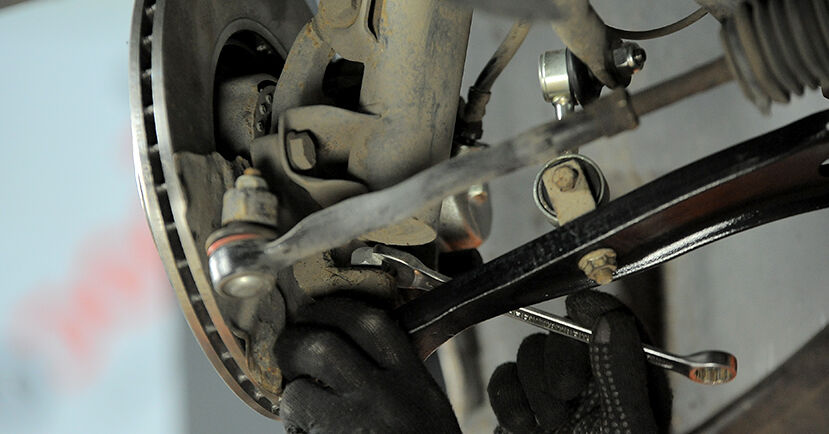 DIY replacement of Control Arm on BMW 3 Compact (E36) 323ti 2.5 1994 is not an issue anymore with our step-by-step tutorial