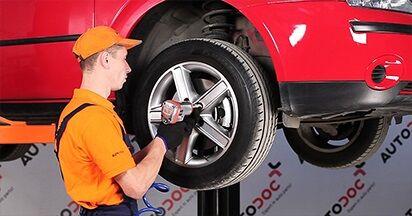 Hvordan man udskifter Bremseskiver på Ford Mondeo mk3 Sedan 2000 - gratis PDF og video manualer