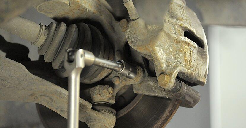 Ford Mondeo mk3 Sedan 2.0 16V 2002 Bremseskiver udskiftning: gratis værksteds manualer