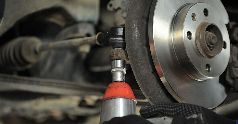 Spurstangenkopf beim VW GOLF 1.9 TDI 1994 selber erneuern - DIY-Manual