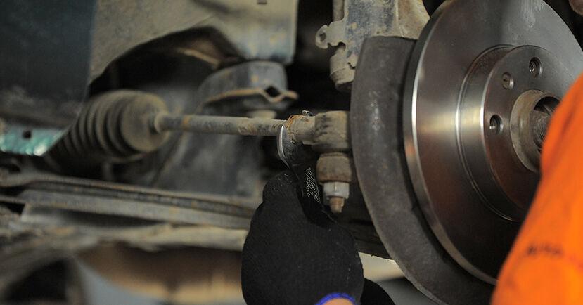 Spurstangenkopf Golf 3 Cabrio 1.6 1995 wechseln: Kostenlose Reparaturhandbücher