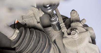 Austauschen Anleitung Bremsscheiben am Honda CR-V III 2016 2.2 i-CTDi 4WD (RE6) selbst