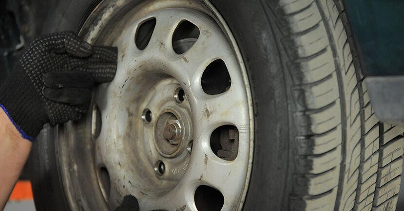 Radlager Golf 3 Cabrio 1.6 1995 wechseln: Kostenlose Reparaturhandbücher