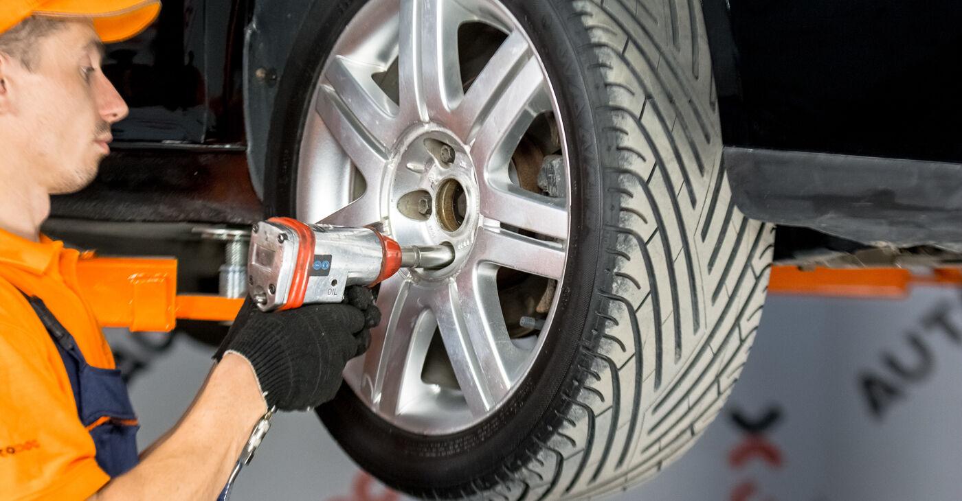 Come sostituire VW GOLF V (1K1) 1.9 TDI 2004 Testina dello Sterzo - manuali passo passo e video guide