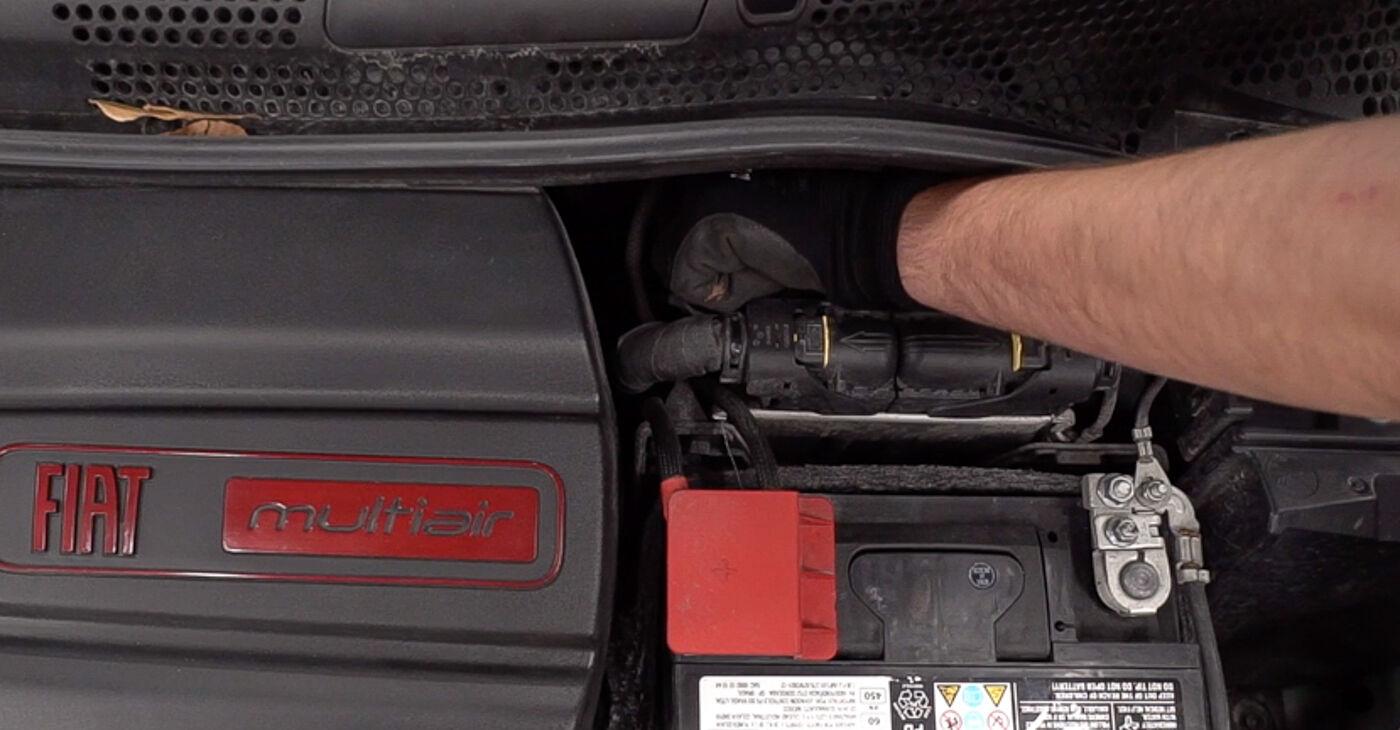 Como trocar Pastilhas De Travão no Fiat 500 312 2009 - manuais gratuitos em PDF e vídeo