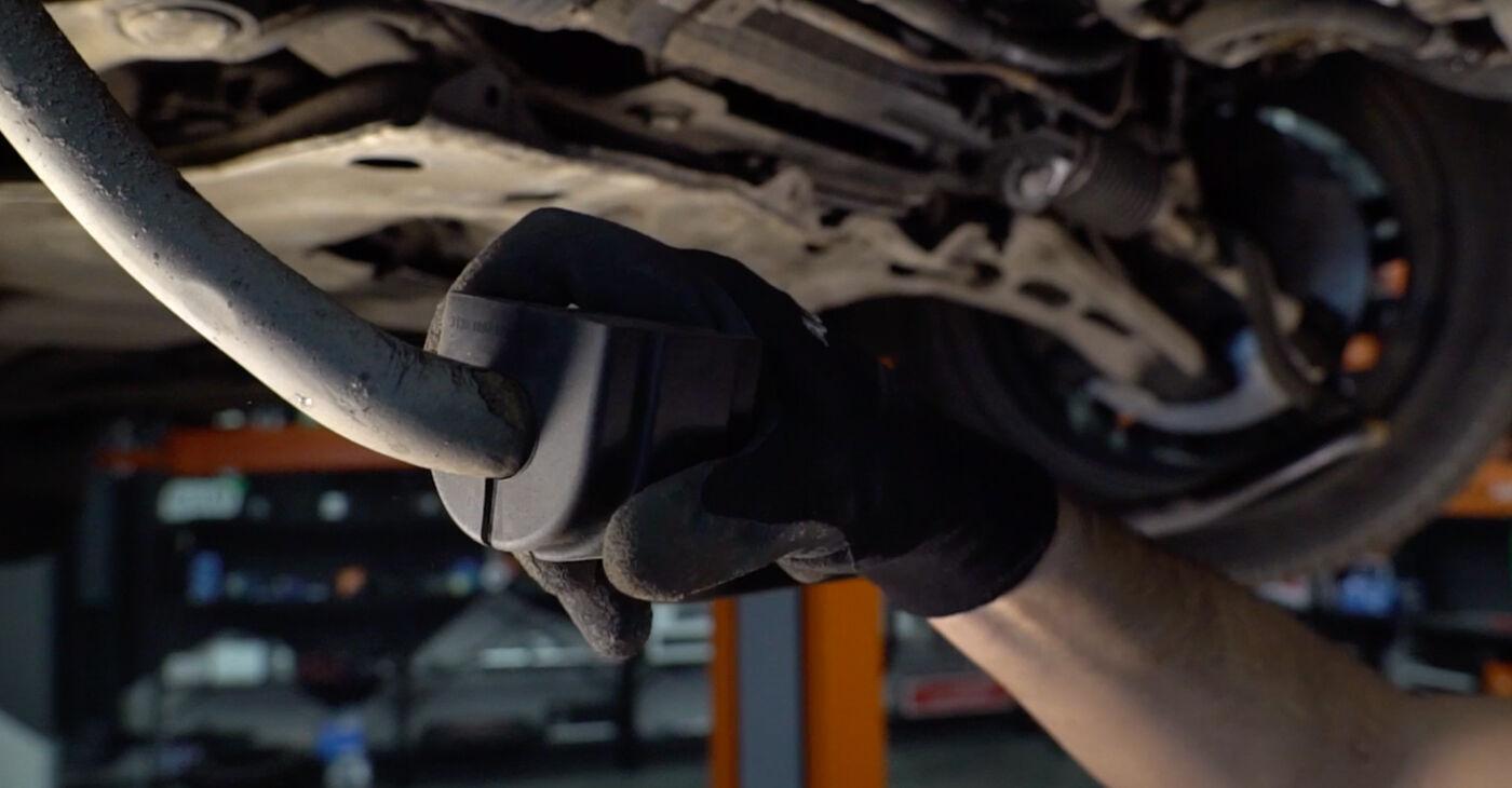 Zamenjajte Gumice Stabilizatorja na BMW 3 Touring (E46) 2001 320d 2.0 sami