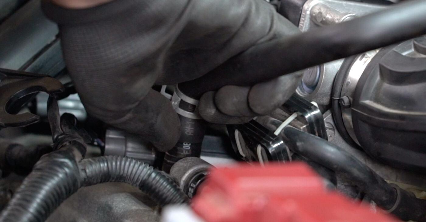 Как се сменя Запалителна бобина на Nissan Qashqai j10 2006 - безплатни PDF и видео уроци