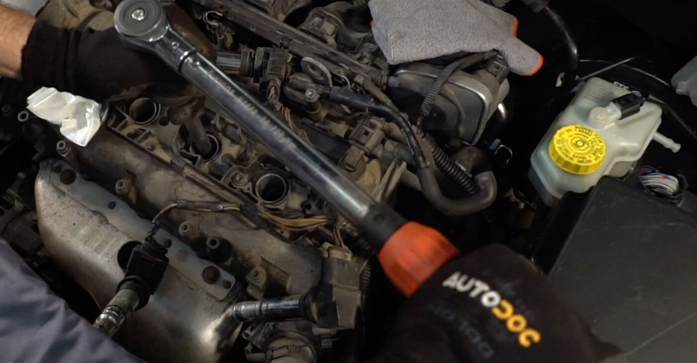 How to replace VW POLO (9N_) 1.4 16V 2002 Spark Plug - step-by-step manuals and video guides