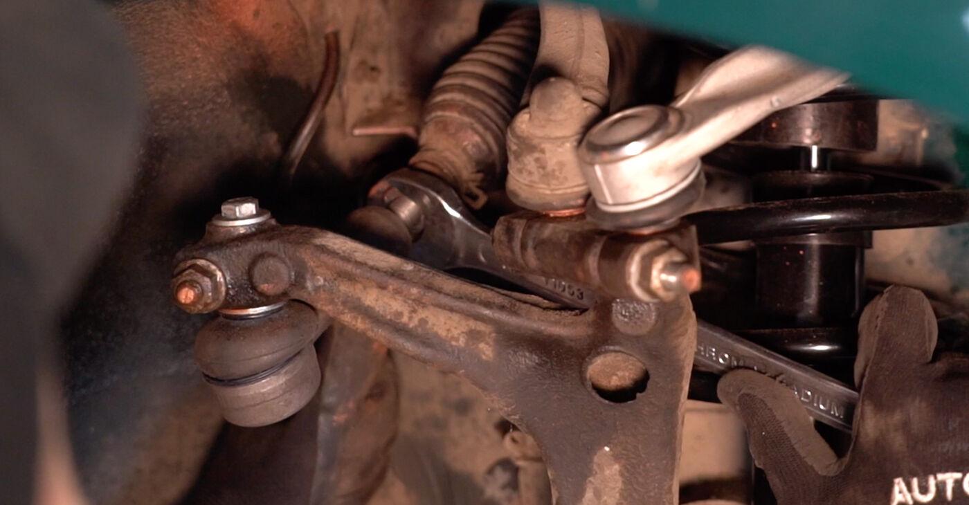 VW PASSAT 2001 Konec jarmovega droga priročnik za zamenjavo s koraki