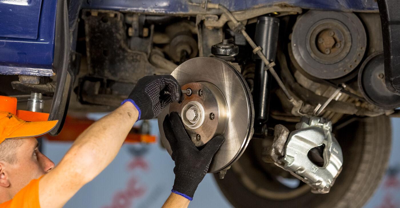 Radlager beim VW TRANSPORTER 2.4 D 1997 selber erneuern - DIY-Manual