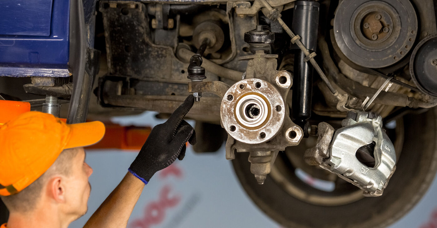 Tausch Tutorial Radlager am VW TRANSPORTER IV Bus (70XB, 70XC, 7DB, 7DW) 2002 wechselt - Tipps und Tricks