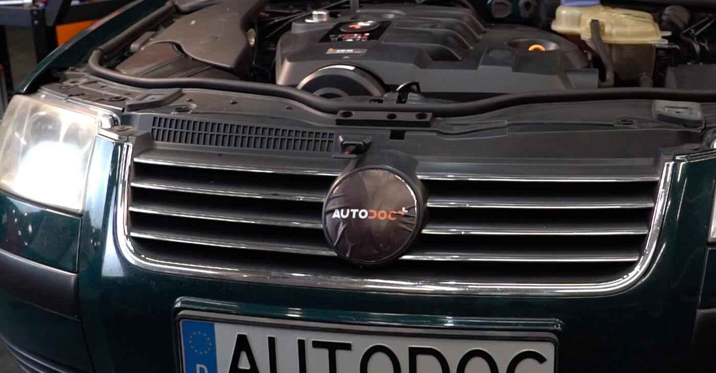 Passat 3b6 1.8 T 20V 2002 Ammortizzatori sostituzione: manuali dell'autofficina