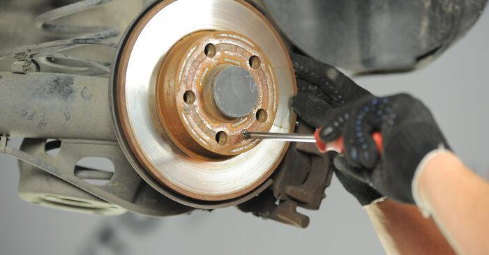 POLO (9N_) 1.9 TDI 2012 Discos de Travão manual de substituição de oficina por si mesmo