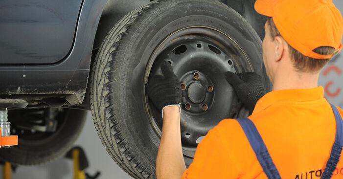 Como remover VW POLO 1.9 TDI 2005 Discos de Travão - instruções online fáceis de seguir