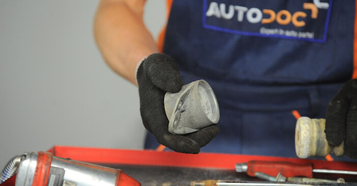 POLO (9N_) 1.9 TDI 2012 Strut Mount DIY replacement workshop manual