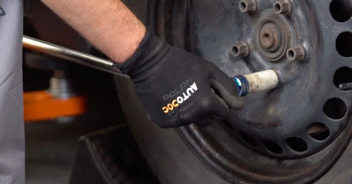 How to change Strut Mount on Polo 9n 2001 - free PDF and video manuals