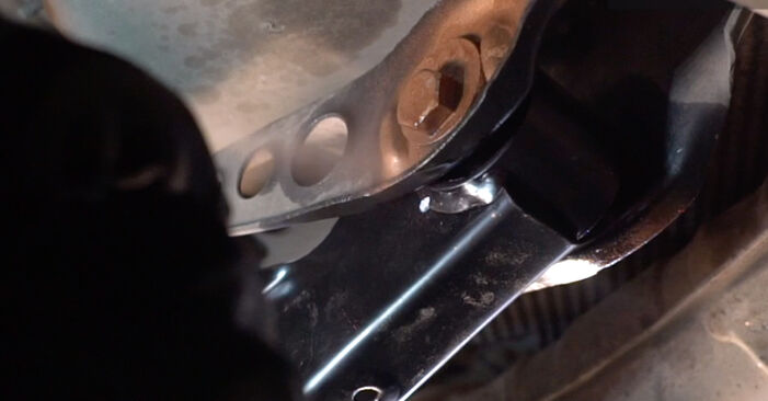 Changing Strut Mount on VW POLO (9N_) 1.2 2004 by yourself