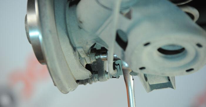 Radlager am VW POLO (9N_) 1.9 SDI 2006 wechseln – Laden Sie sich PDF-Handbücher und Videoanleitungen herunter