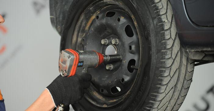 VW POLO 1.2 Radlager ausbauen: Anweisungen und Video-Tutorials online